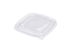 PET lid for 375ml/500ml Pulp Square bowl